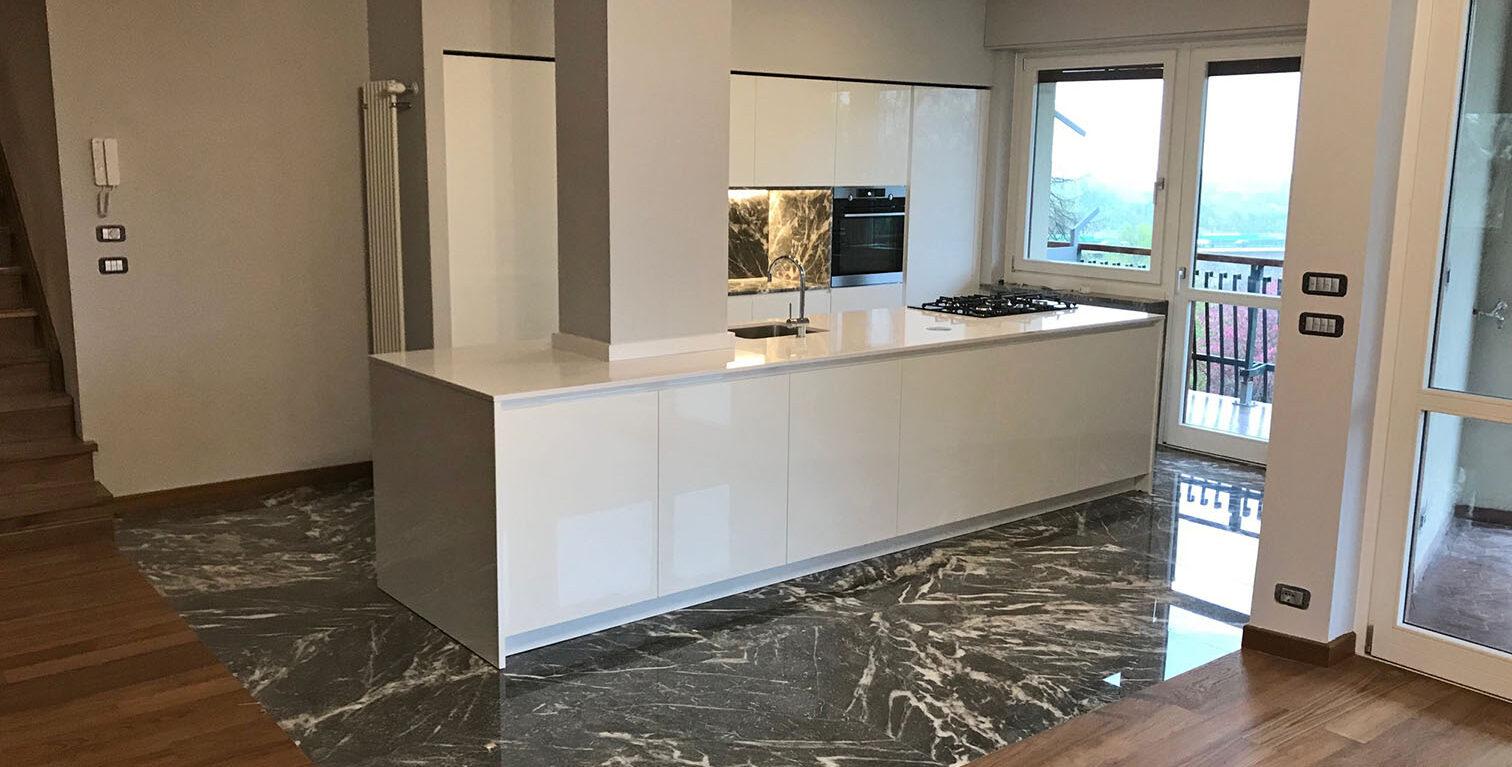 Cucina marble Moncervetto